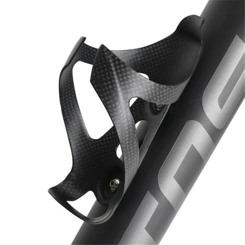 Full Carbon Fiber 3K MTB Bike Bicycle Water Bottle Holder