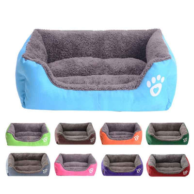 Warm Coral Fleece Winter Bed for your Dog !