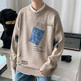 Autumn and winter men's sweaters with plush thickening and handsome new style of Korean style loose boys' clothes men's clothes