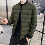 Men's Cotton-Padded Jackets Brief Paragraph Cotton-Padded Jacket Winter Coats