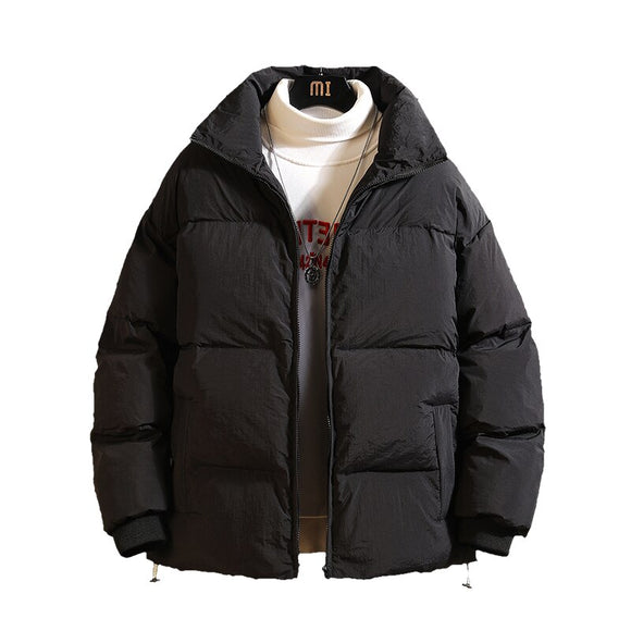 Winter Men's Cotton-Padded Jackets Large Size Warm Cotton-Padded Bread Coat  For Mens