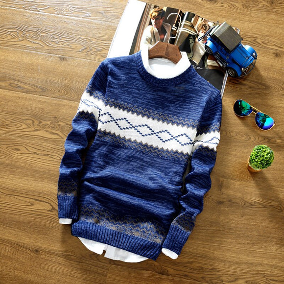 2020 Autumn New Leisure Round Neck Pullover Sweater Knit Sweater Long-sleeved Short Korean Style Slim Knitted Cotton Sweater