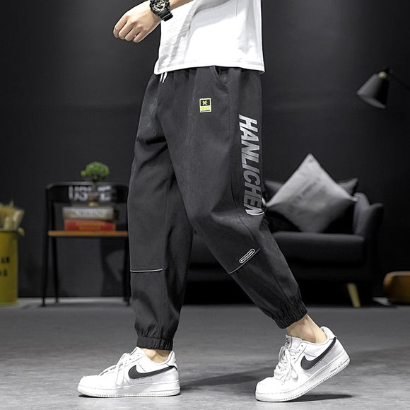 Men's Joggers Leggings Pants Man Black Comfortable Harem Pant Summer Casual Streetwear Loose Trouser Japanese Trendy Sweatpants