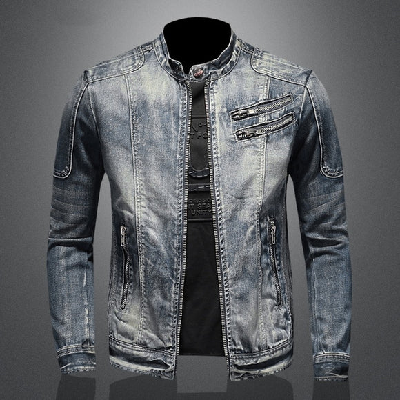 2020 new arrival high quality casual denim jackets men,men's casual jackets,plus-size M-5XL
