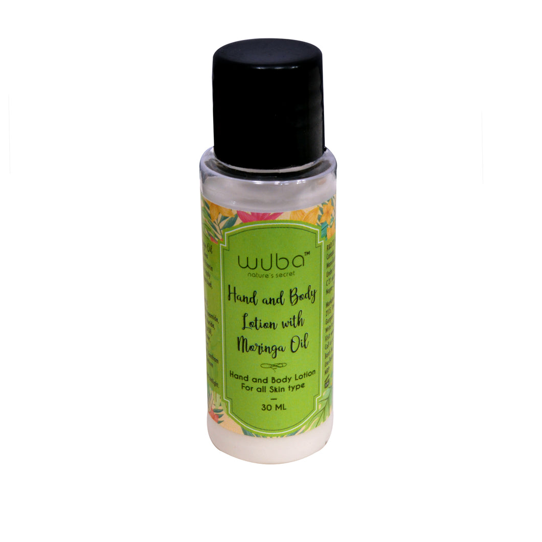 Hand and Body Lotion with Moringa Oil - 30ml