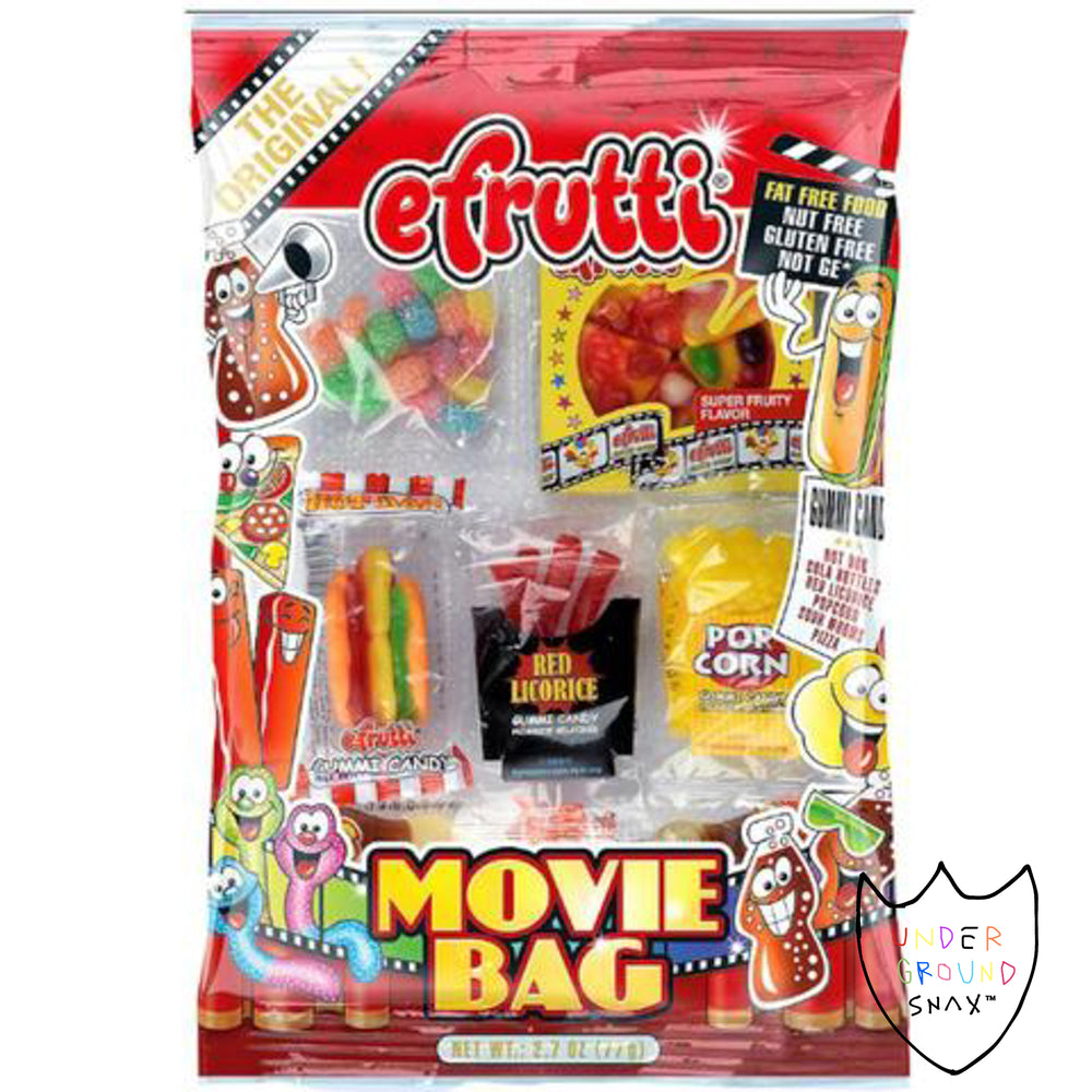 eFrutti Gummi Movie Peg Bag