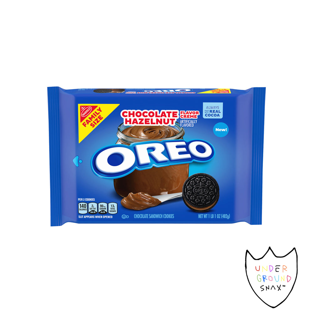 Nabisco Oreo Chocolate Hazelnut Cookie