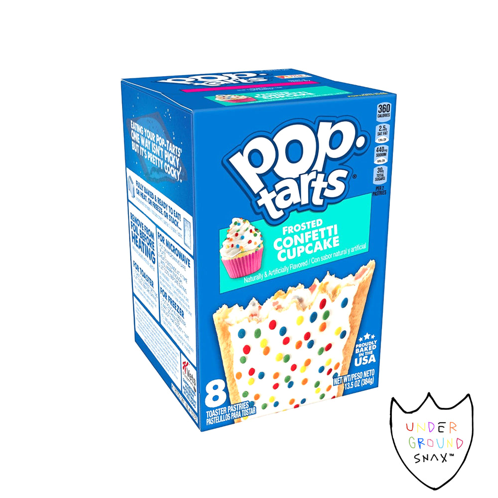 Pop-Tarts Frosted Confetti Cupcake (single pack)