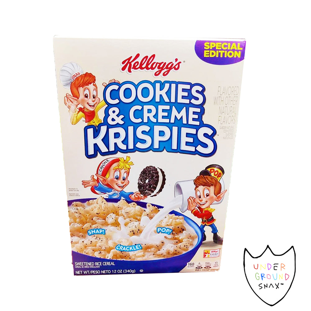 Rice Krispies Cookies and Cream Cereal