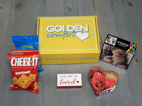 Sample items for Golden Comfort Crate subscription box