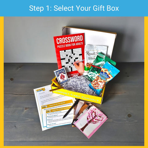Step 1 - select your subscription box