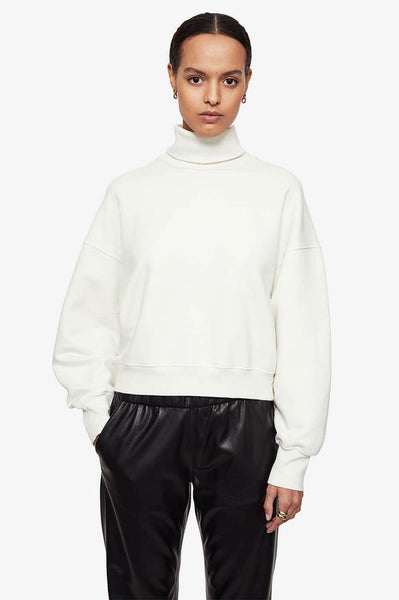 The Ivory Roll Neck Sweater