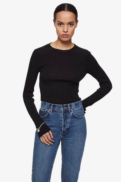 The Cecilia Top in Black
