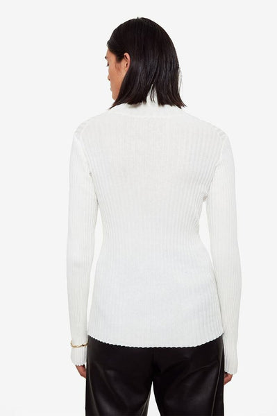 The Clare Top in Ivory