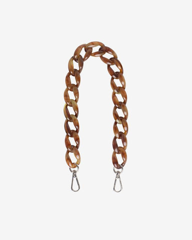 The Chain Handle in Brown