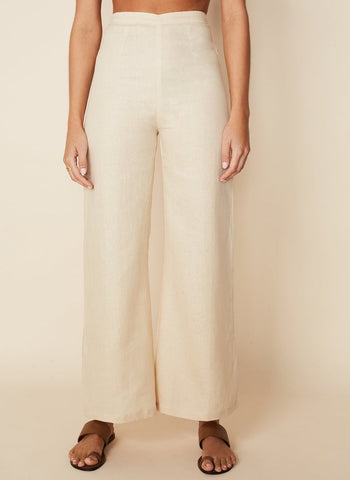 The Sibyl Pant in Plain Sand