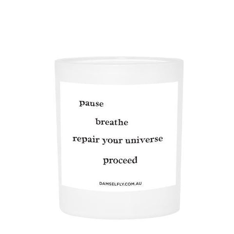 The Pause and Breathe Candle