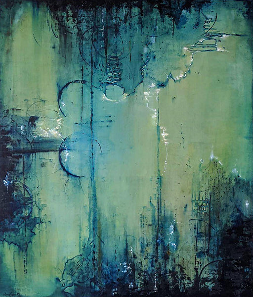 Abstract artwork by Raquel Aurini