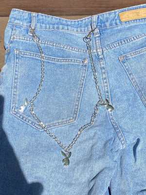 Playboy Bunny Belt Chain