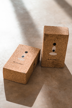 Load image into Gallery viewer, SET OF 2 - Natural Cork Yoga Blocks