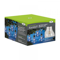 Eureka! Retro Lightbulb, 4pc Carry Pack