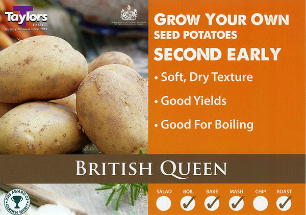Seed Potatoes British Queen 2KG