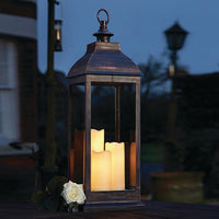 Giant Copper Battery Lantern