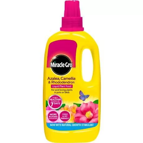 Miracle-Gro® Azalea, Camellia & Rhododendron Concentrated Liquid Plant Food 1L