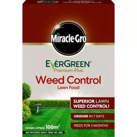 Miracle-Gro® EverGreen® Premium Plus Weed Control Lawn Food 100sqm