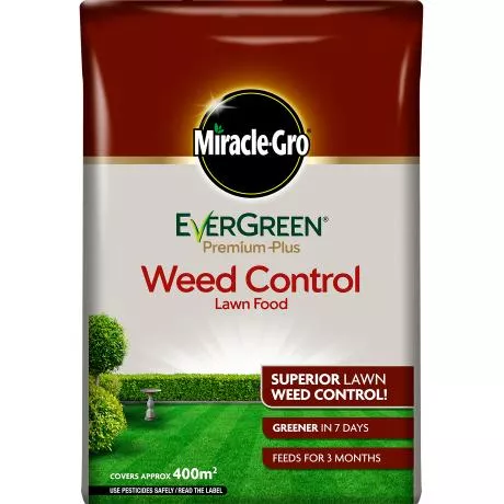 Miracle-Gro® EverGreen® Premium Plus Weed Control Lawn Food 400sqm