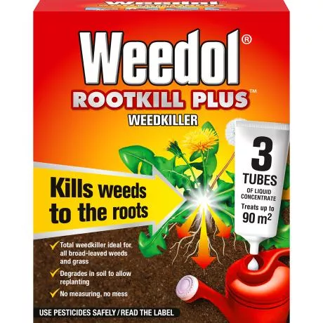 Weedol® Rootkill Plus™ (Liquid Concentrate Tubes) 3s