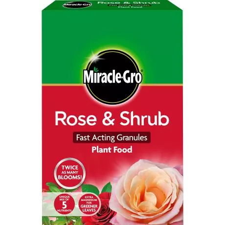 Miracle-Gro® Rose & Shrub Fast Acting Granules Plant Food 3kg