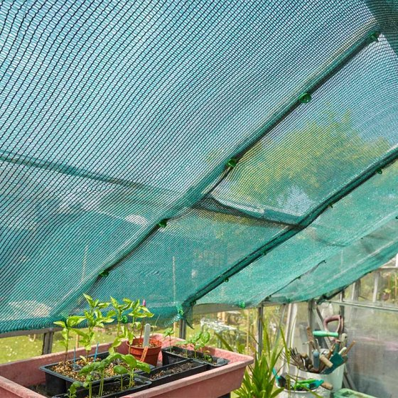 Shade Screen, Green, 1.5m x 5m