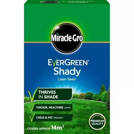Miracle-Gro® EverGreen® Shady Lawn Seed 14sqm