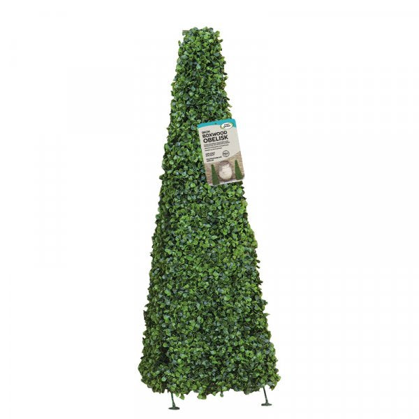 Boxwood Obelisk 90cm, Artificial