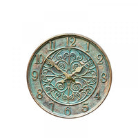 Verdant Wall Clock 12in