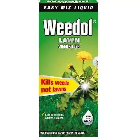 Weedol® Lawn Weedkiller (Liquid Concentrate) 1 litre