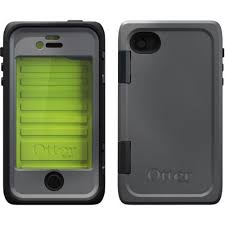 Roll over image to zoom in OTTERBOX 77-26095 iPhone(R) 4/4S Armor Series(R) Case (Black/Green)