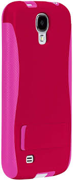 Case-Mate Samsung Galaxy S4 Olo Pop with Stand Case - Retail Packaging - Ruby Red
