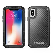 Pelican Shield for iPhone X/XS Black with Kevlar Brand Fibers