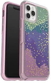 OtterBox SYMMETRY CLEAR SERIES Case for iPhone 11 Pro - WISH WAY NOW (SILVER FLAKE/PINK MATTER/WISH WAY NOW)