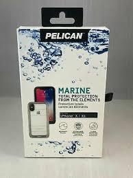 Pelican Marine Waterproof Case for Apple iPhone X/Xs - Clear
