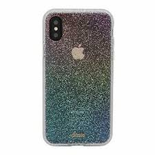 Sonix Rainbow Glitter Cell Phone Case for Apple iPhone X, iPhone Xs