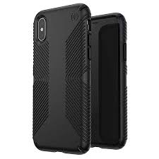 Speck Presidio Grip Case for iPhone XS / X, Black