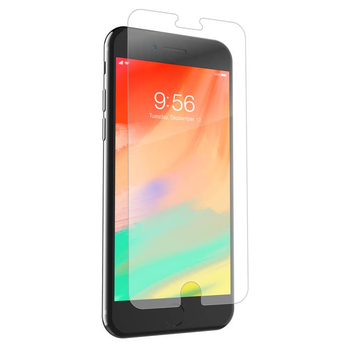 ZAGG tempered glass screen protection iphone 7/8
