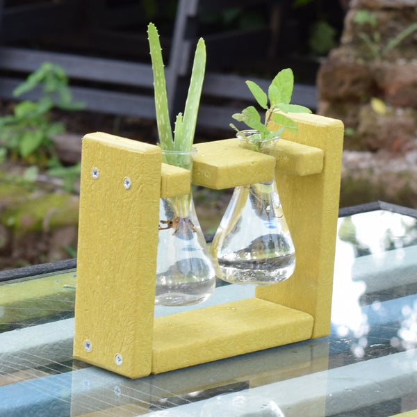 Eco Flask Planter - Broad