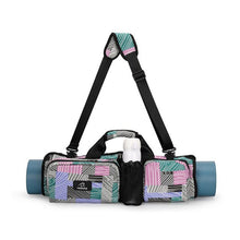 Load image into Gallery viewer, Yoga Mat Backpack Outdoor Multifunctional Waterproof Gym Travel Pilates Bag Large Capacity Shoulder Bag Durable Zipper Tote