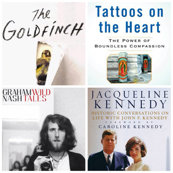 Four Books to Read This Fall, Graham Nash, Jackie O, Tattoos on the Heart
