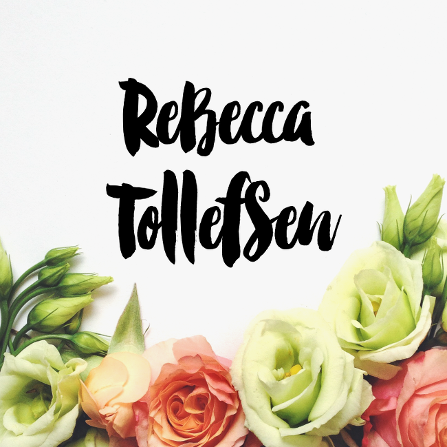 Rebecca Tollefsen - Personalized Jewelry, Initial Necklaces and Birthstone Jewelry.