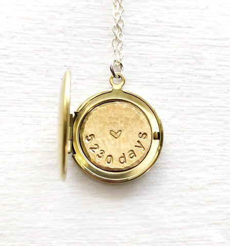 Days Locket ©  - Personalized Custom Locket